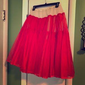 Vintage Petticoat Skirt